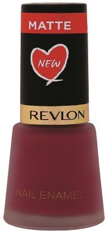 Revlon Nail Enamel Crimson Matte Crimson Matte