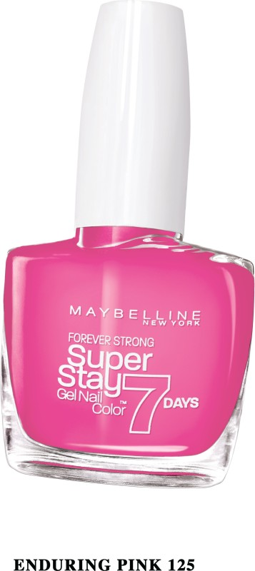 Maybelline SUPER STAY GEL NAIL COLOR ENDURING PINK(10 ml) SUPER STAY GEL NAIL COLOR