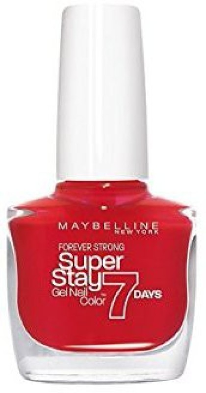 Maybelline Super Stay Gel Nail Color passionate red, 08(10 ml) Super Stay Gel Nail Color