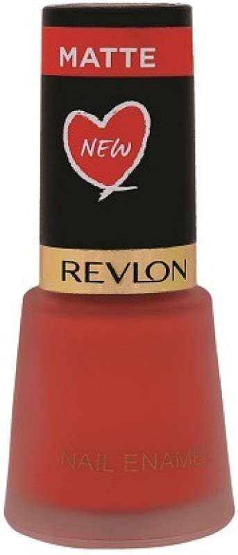 Revlon Nail Enamel Coral Matte Coral Matte(8 ml)