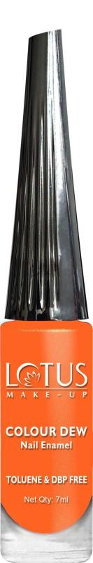 Lotus Make-up COLOUR DEW NAIL ENAMEL 95 ORANGE DESIRE(7 ml)