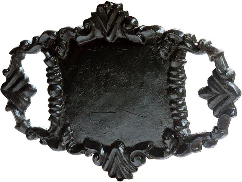 Karara Mujassme Cast Iron Victorian Style Name Plate(Black)