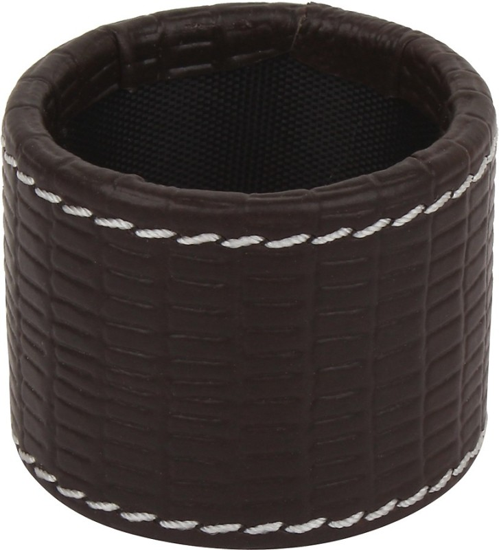 The Decor Mart DMLR-NR-051D Set of 6 Napkin Rings(Brown)