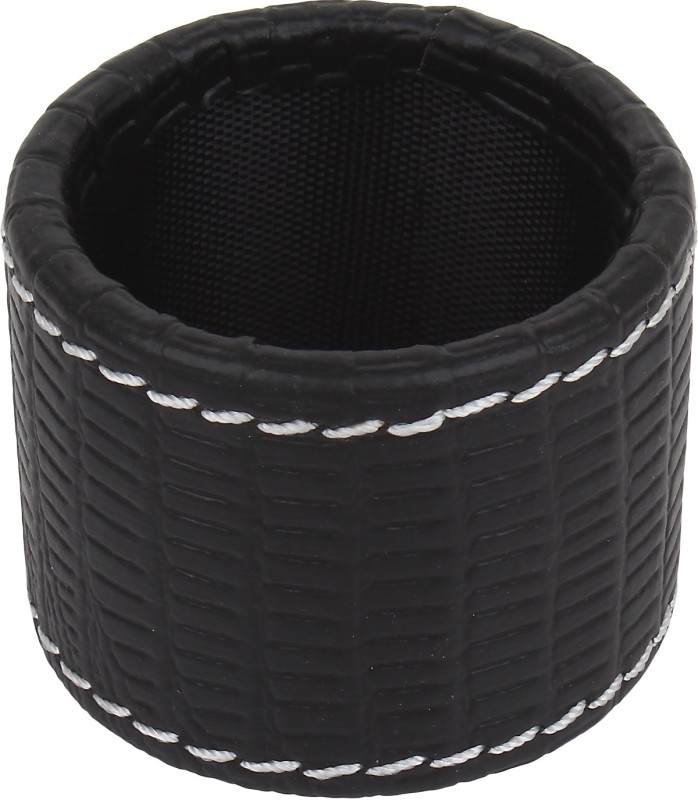The Decor Mart DMLR-NR-051C Set of 6 Napkin Rings(Black)