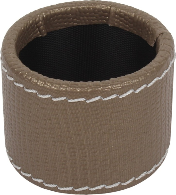 The Decor Mart DMLR-NR-051A Set of 6 Napkin Rings(Taupe)