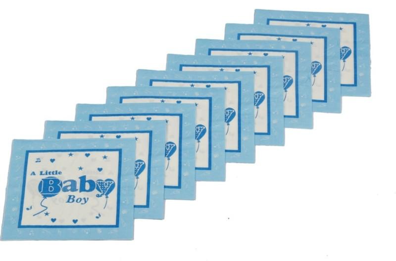 Funcart Little Baby Boy Blue Napkins(9 Sheets)