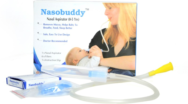 Nasobuddy NB1 Manual Nasal Aspirator(Transparent)