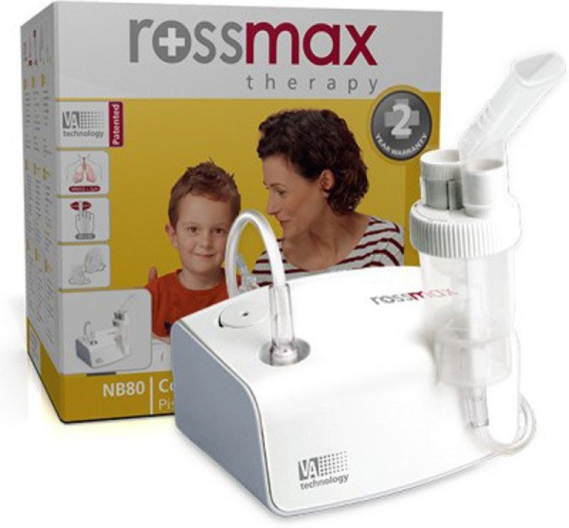 Rossmax NB80 with Car Kit Inside Nebulizer(White)