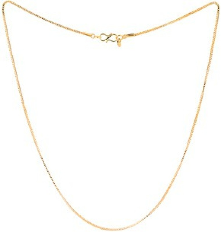 Voylla Artificial Classic Plain Gold-plated Plated Alloy Chain