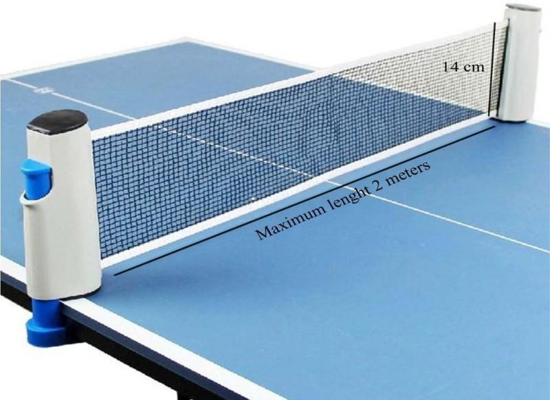 Cima Innovative Retractable Table Tennis Net(Multicolor)