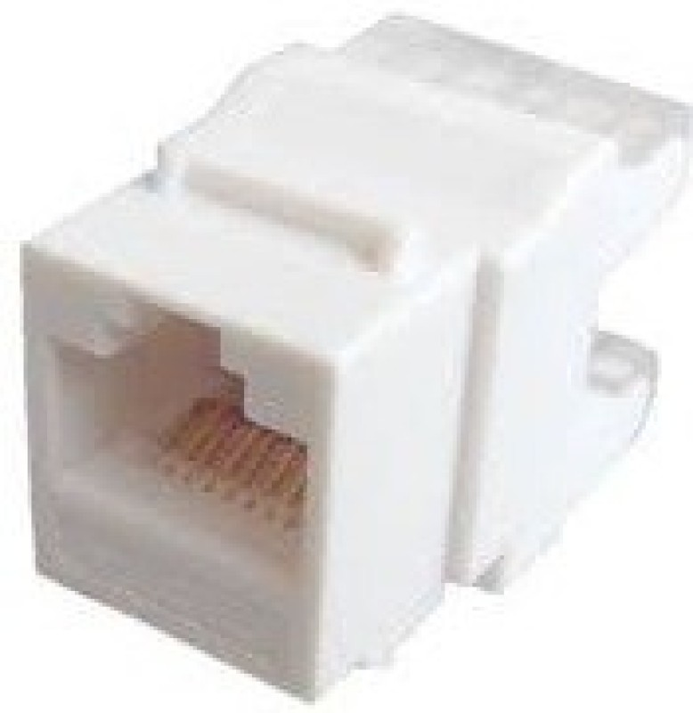 D-Link D-LINK KEYSTONE JACK CAT6 (IO) Network Interface Card(White)