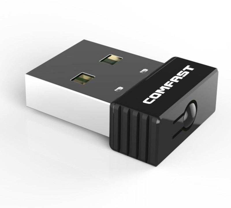 Comfast USB Wifi Wireless Soft AP WPS Network USB Adapter(Black)