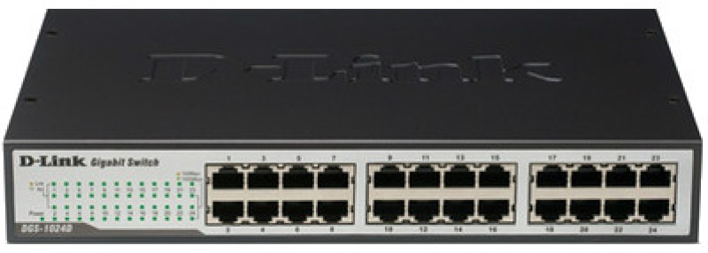 D-Link DGS-1024D Network Switch image