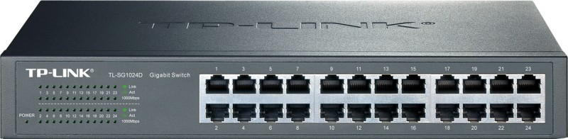 TP-LINK TL-SG1024D 24-Port Gigabit Desktop/Rackmount Switch
