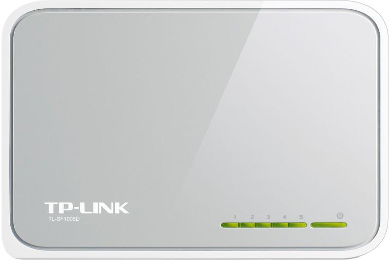 TP-LINK TL-SF1005D 5-Port 10/100Mbps Desktop Switch image