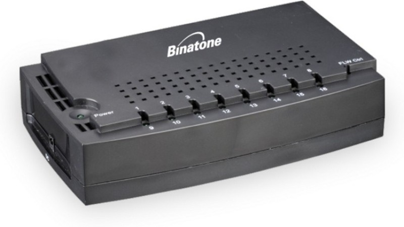Binatone SW-FE116 Network Switch(Black) image