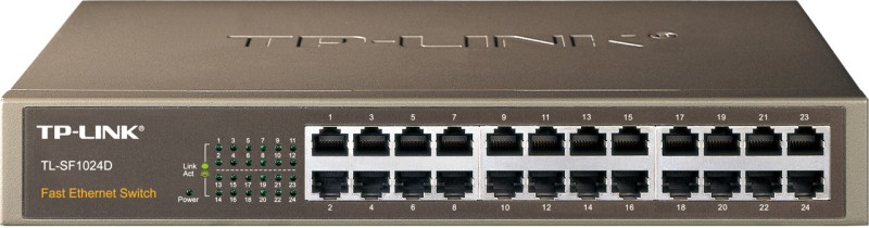 TP-LINK TL-SF1024D 24-Port 10/100Mbps Switch image