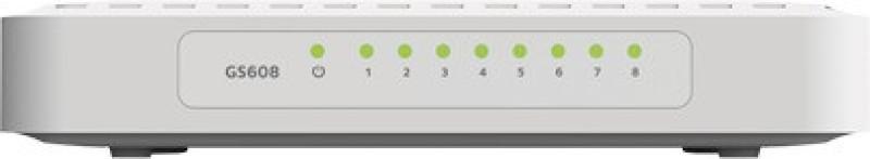 Netgear GS608 Network Switch(White) image