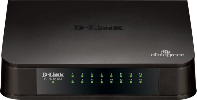 D-Link DES-1016A 16-Port 10/100 Network Switch image