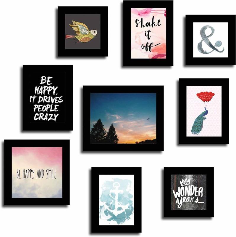 Art Street Generic Photo Frame(Multicolor, 9 Photos)