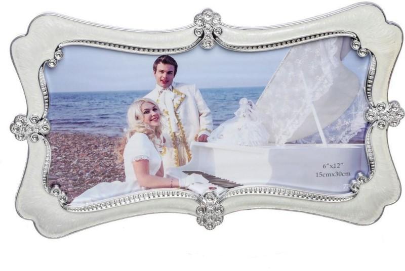 Geetanjali Decor Generic Photo Frame(Silver, 1 Photos)