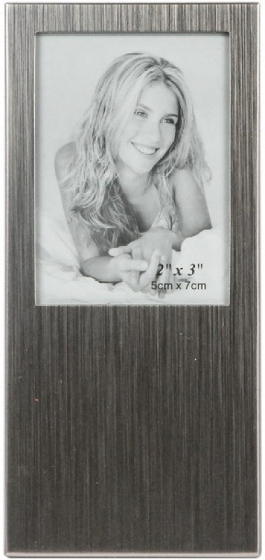 JewelandGifts Silver-plated Photo Frame(Silver, 1 Photos)