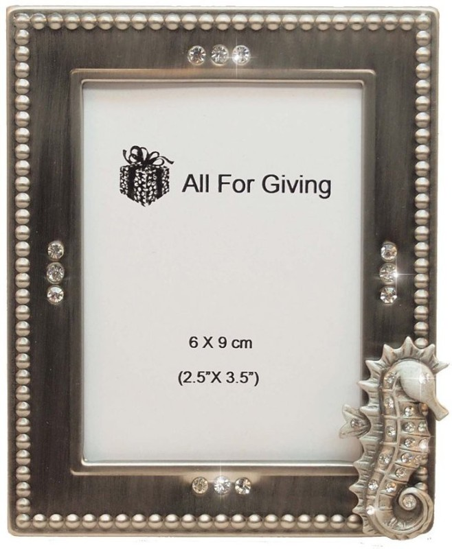 All For Giving Ceramic Photo Frame(Beige, 1 Photos)