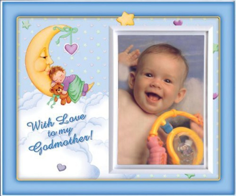 Expressly Yours! Photo Expressions Ceramic Photo Frame(Multicolor, 1 Photos)