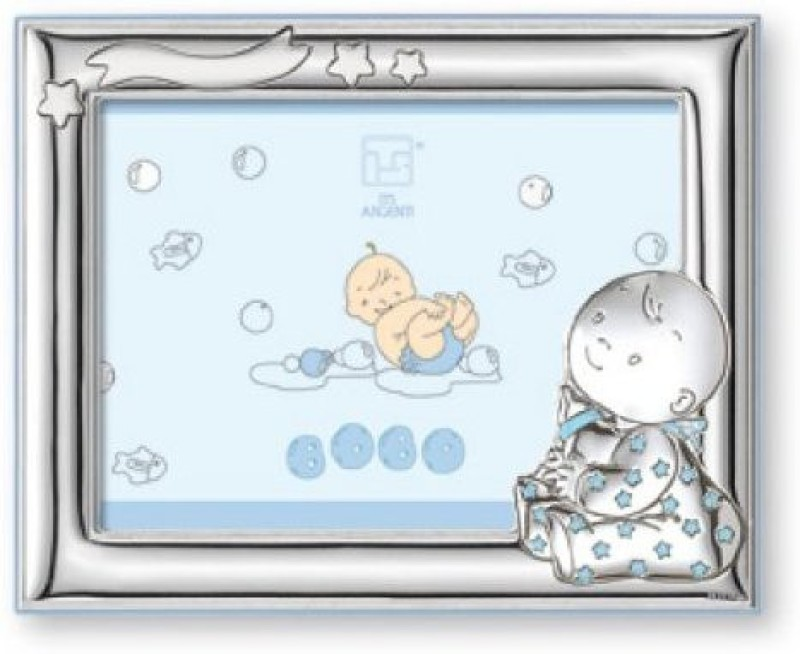 Silver Touch USA Ceramic Photo Frame(Silver, 1 Photos)
