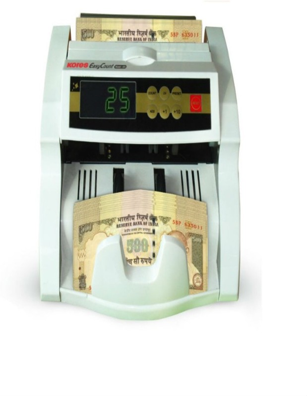 Kores 441 Note Counting Machine(Counting Speed - 1000 notes/min)