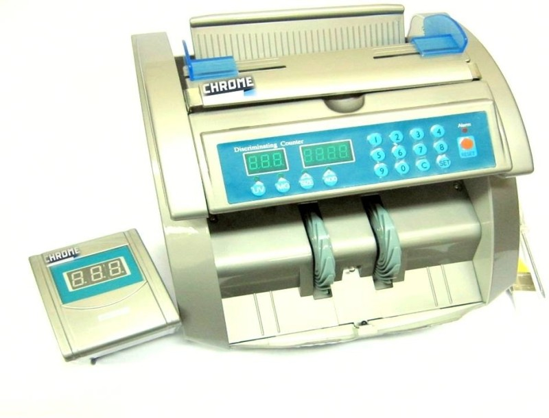 Chrome Currency 9221 Note Counting Machine(Counting Speed - 1000 notes/min)
