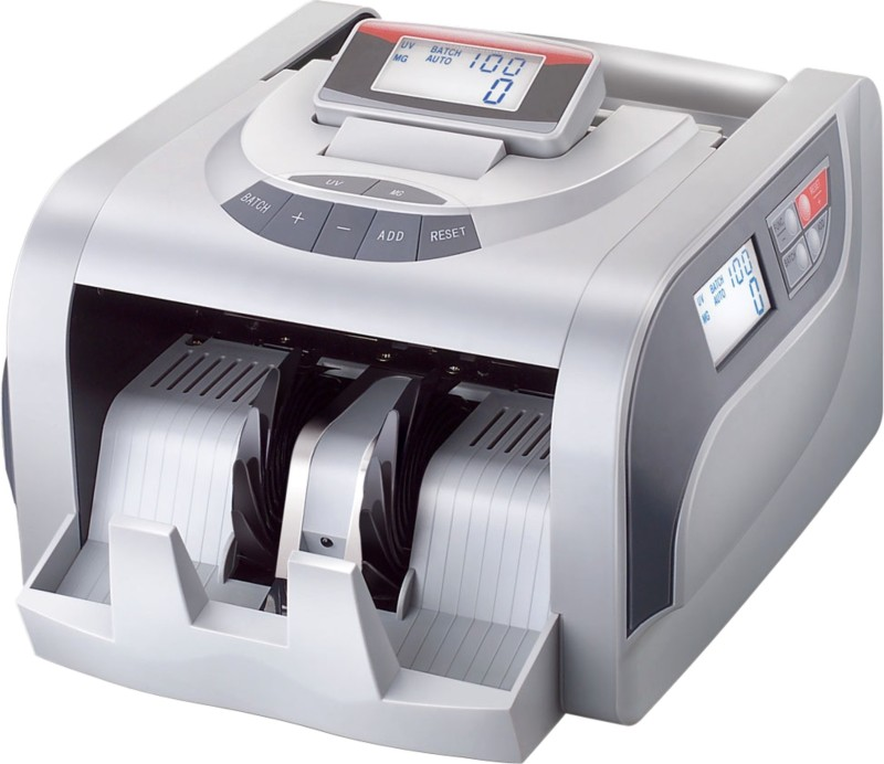 Mycica 2820 Grey Note Counting Machine(Counting Speed - 1000 notes/min)