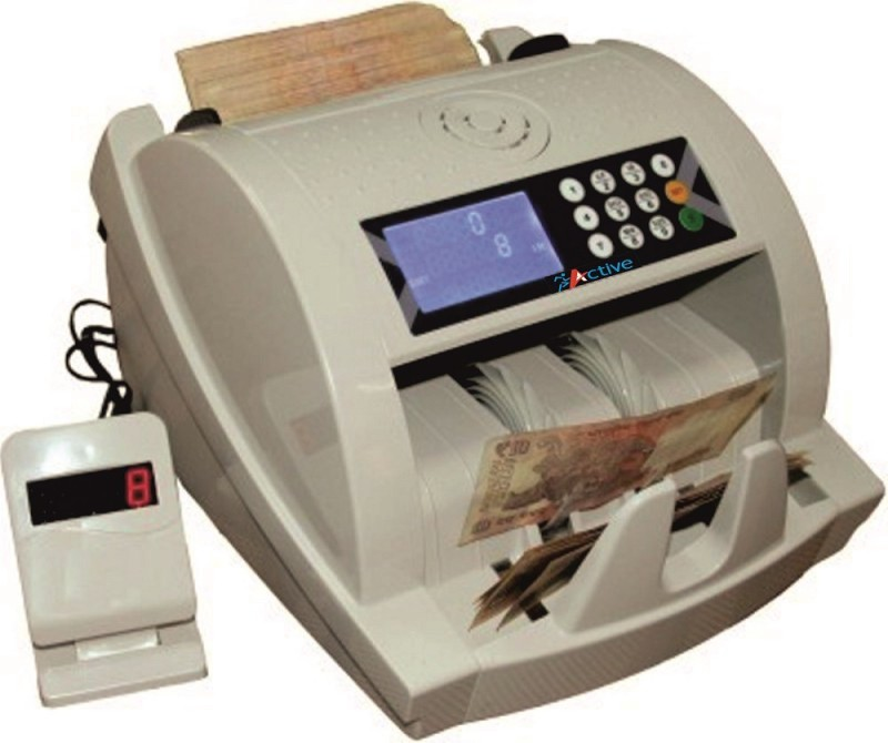 Active Act10-Mg Note Counting Machine(Counting Speed - 1000 notes/min)