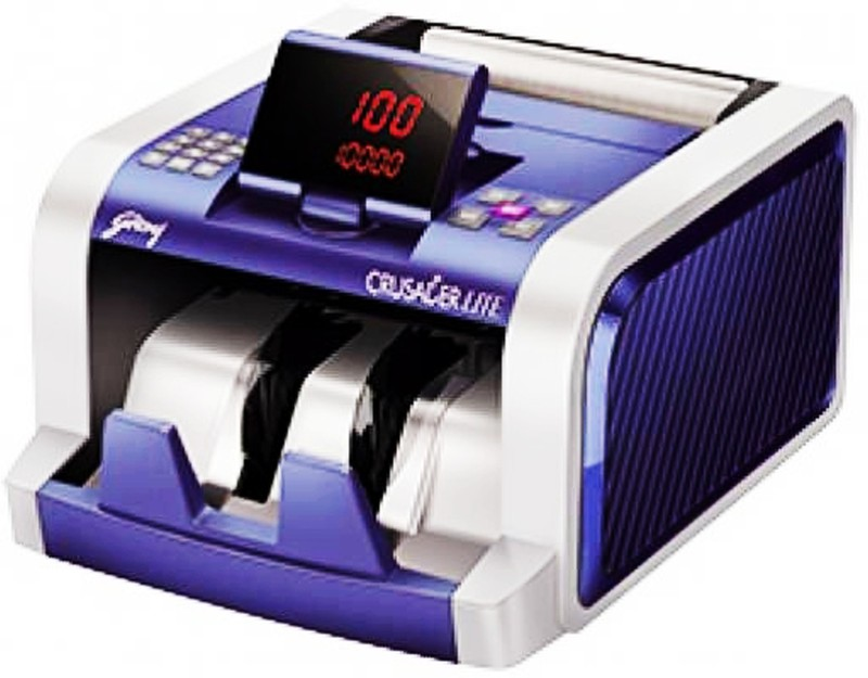Godrej Godrej Crussader Lite Note Counting Machine(Counting Speed - 1000 notes/min)