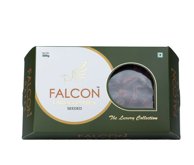 Falcon Fardh Seeded Dates(2 x 250 g)