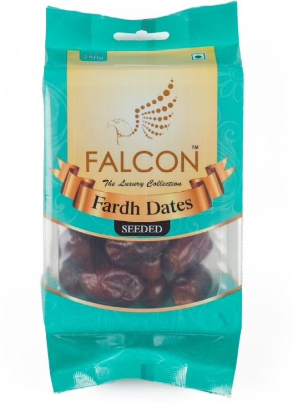 Falcon Fardh Seeded Pouch Dates(4 x 62.5 g)