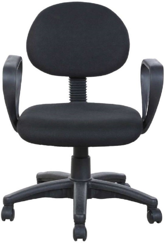 Parin Leatherette Office Arm Chair(Black)