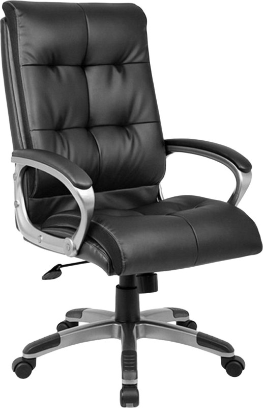 Nilkamal Fabric Office Arm Chair(Black)
