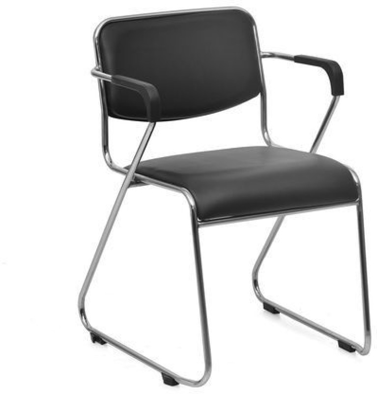 Nilkamal Contract 01 Fabric Office Arm Chair(Black)