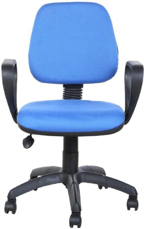 Parin Fabric Office Arm Chair(Blue)