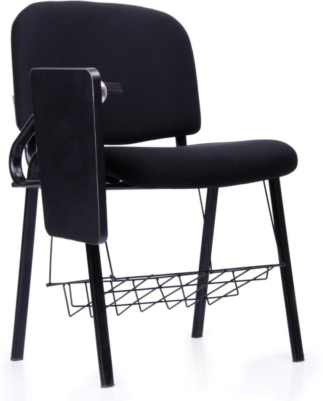 Durian Brilliant Fabric Study Arm Chair(Black)