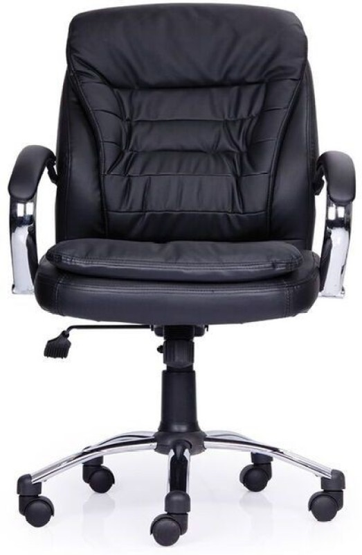 durian-poise-mb-leatherette-office-arm-chairblack