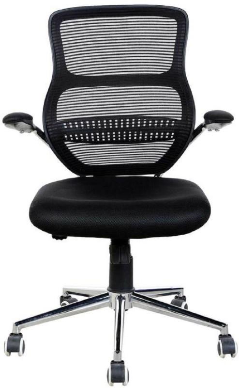 Parin Fabric Office Arm Chair(Black)