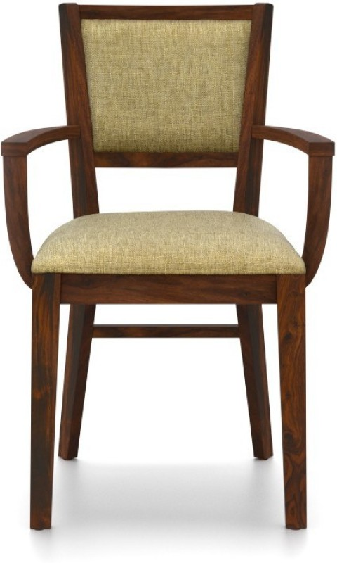 Urban Ladder Aurelio Fabric Office Arm Chair(Brown)