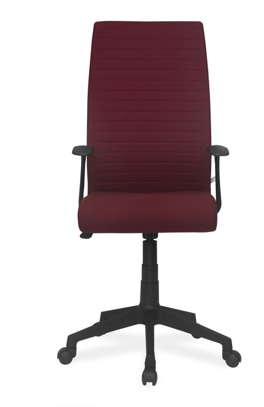 Nilkamal Thames Leatherette Office Arm Chair(Maroon)