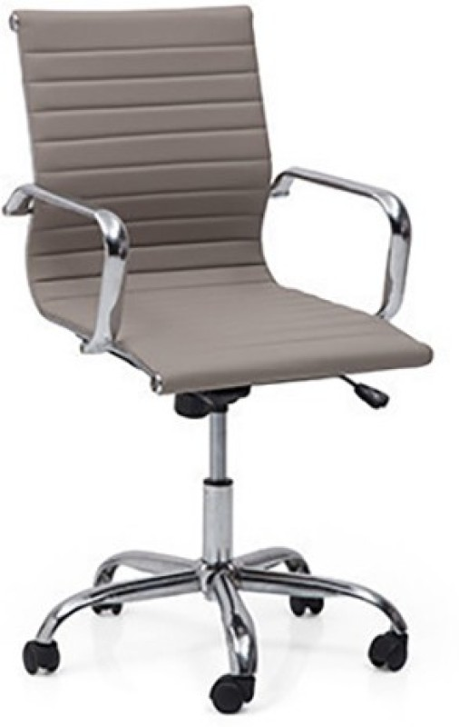 Urban Ladder Charles 2 Axis Fabric Office Arm Chair(Grey)