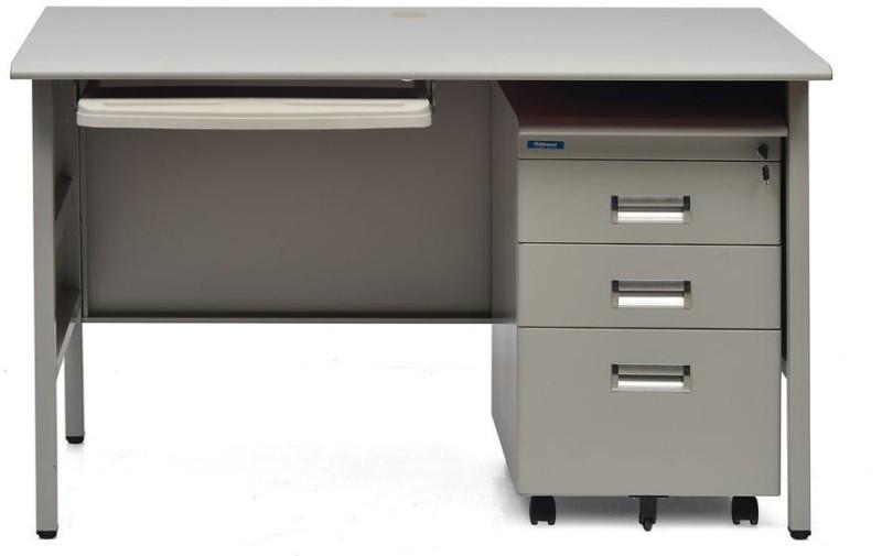 Nilkamal Fema Metal Office Table(Free Standing, Finish Color - NA)