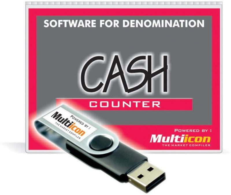 Multiicon Cash Counter (Pen Drive Version)
