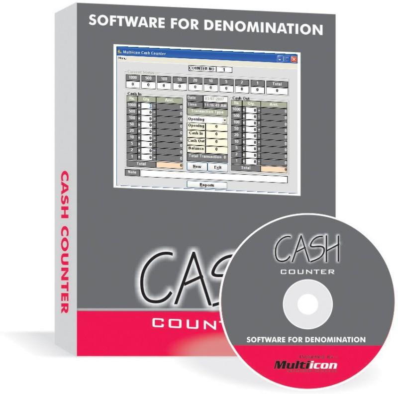 Multiicon Cash Counter (CD Version)
