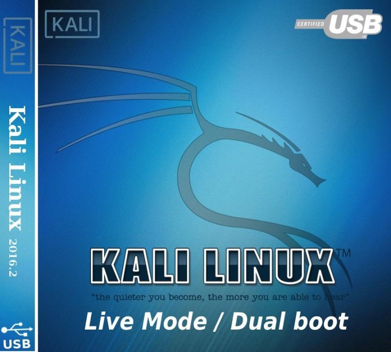 Kali Linux USB 2016.2 Bootable 64 bit